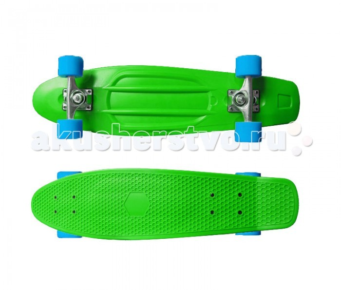 MaxCity Скейтборд MC Plastic Board Big green