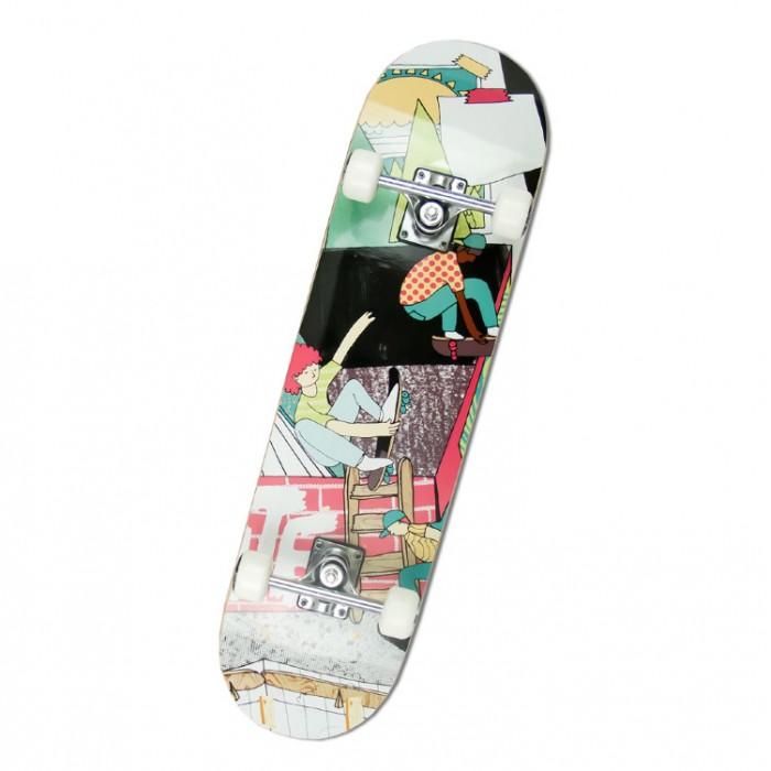 Детский транспорт , Скейтборды MaxCity Скейтборд MC Teen арт: 302254 -  Скейтборды