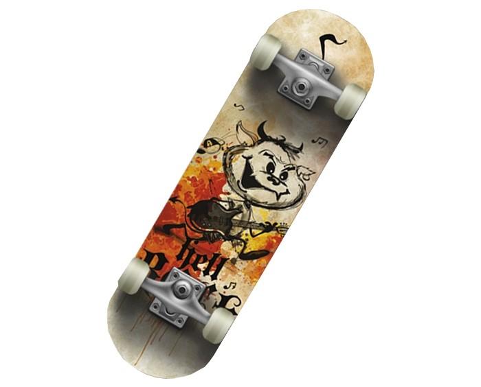Скейтборды СК Спортивная коллекция Скейтборд SC Hellboy JR Mini-board цена 2017