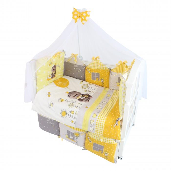 Комплекты в кроватку Золотой Гусь Basik Village (7 предметов) 120х60