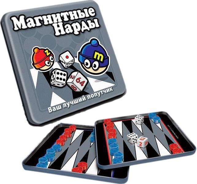 Настольные игры Mack&Zack Магнитная игра Нарды bumbaram магнитные шашки mack and zack mt002