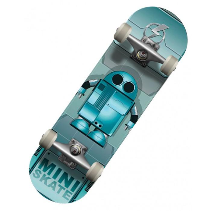 Детский транспорт , Скейтборды СК Спортивная коллекция Скейтборд SC Robot Mini-board арт: 302490 -  Скейтборды
