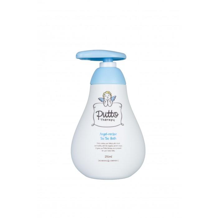 Гигиена и здоровье , Косметика для новорожденных Putto Therapy Пена для ванны детская с капсулами toc-toc 215 мл арт: 302541 -  Косметика для новорожденных