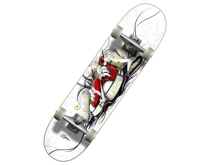 Детский транспорт , Скейтборды СК Спортивная коллекция Скейтборд SC Boots арт: 302619 -  Скейтборды
