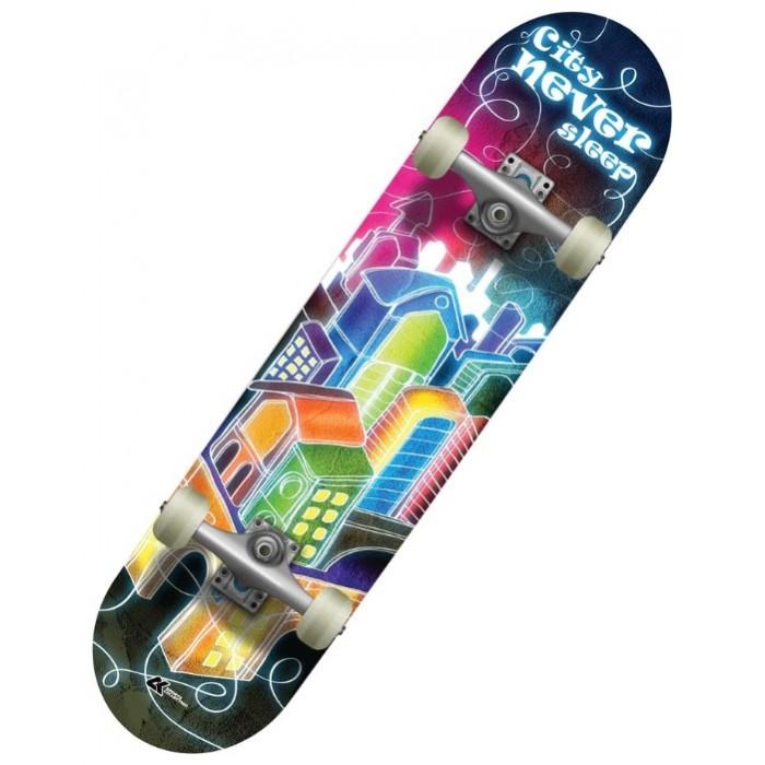 Детский транспорт , Скейтборды СК Спортивная коллекция Скейтборд SC Night арт: 302664 -  Скейтборды