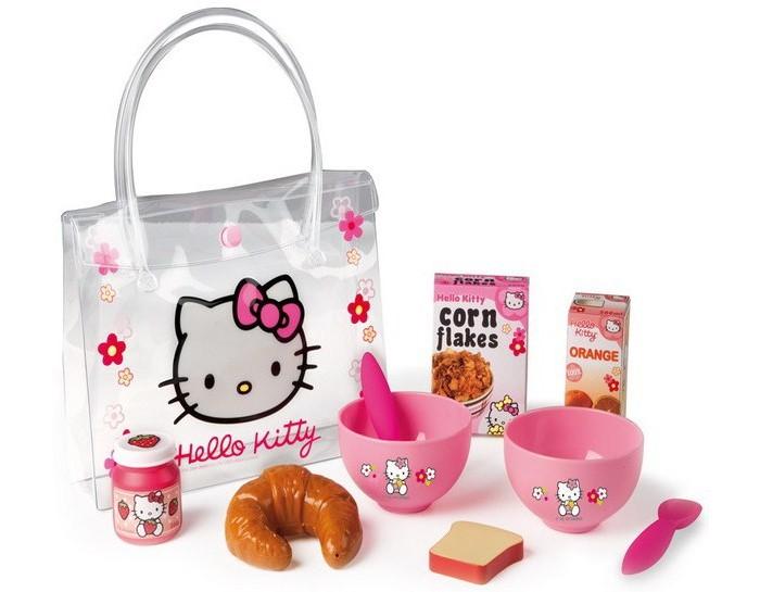 все цены на Ролевые игры Smoby Набор для завтрака в сумочке Hello Kitty онлайн