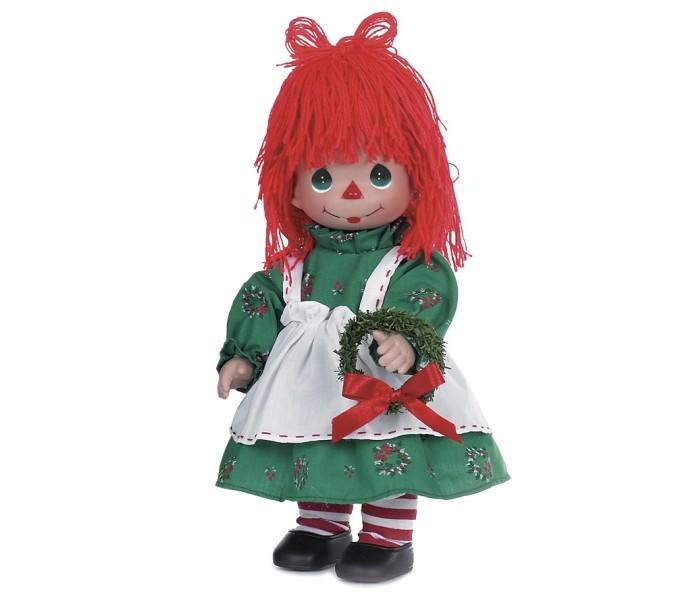Precious Кукла Прошедшие желания девочка 30 смКукла Прошедшие желания девочка 30 смКоллекционная кукла Precious Moments Прошедшие желания очарует вас и вашу дочурку с первого взгляда!   Кукла одета в забавный костюм, полосатые гольфы, на ногах - черные ботиночки. Очаровательные волосы, сплетенные из красных нитей, дополняют прекрасный образ куклы. У девочки большие глаза зеленого цвета. В руке кукла держит венок.    Особенности:  Вся одежда съемная.   Кукла изготавливается из качественного, безопасного материала и имеет пять базовых точек артикуляции.   Кукла имеет свой неповторимый образ и характер.   Волосы прошитые, из качественного синтетического волокна или крученых ниток, в зависимости от образа. Рост куклы 30 см.<br>