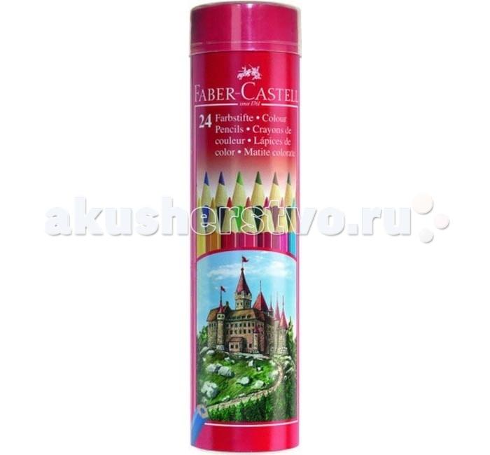 Faber-Castell Цветные карандаши Замок в тубе 24 шт.