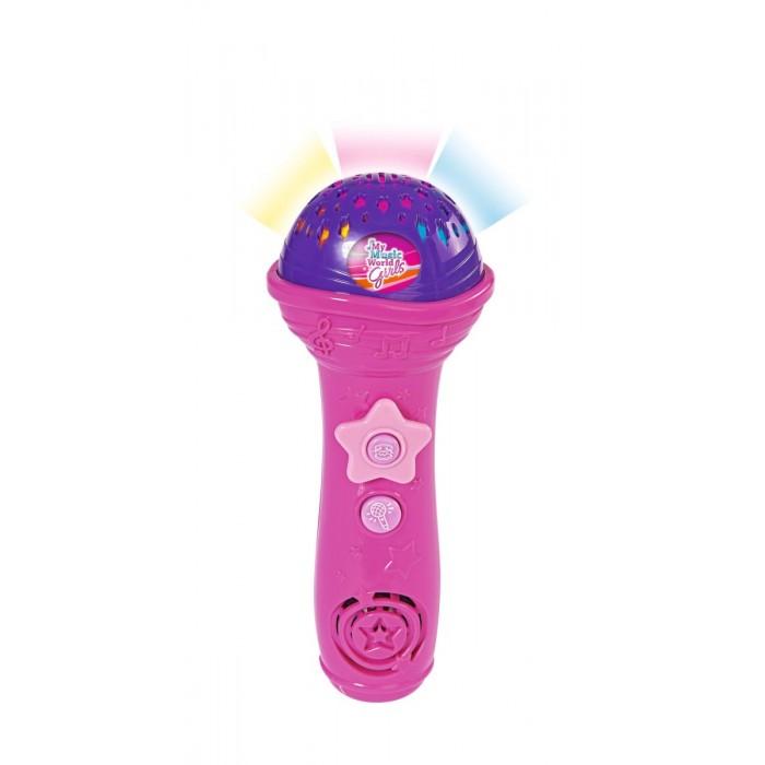Музыкальные игрушки Simba Микрофон 4 демо 3 ритма 20 см