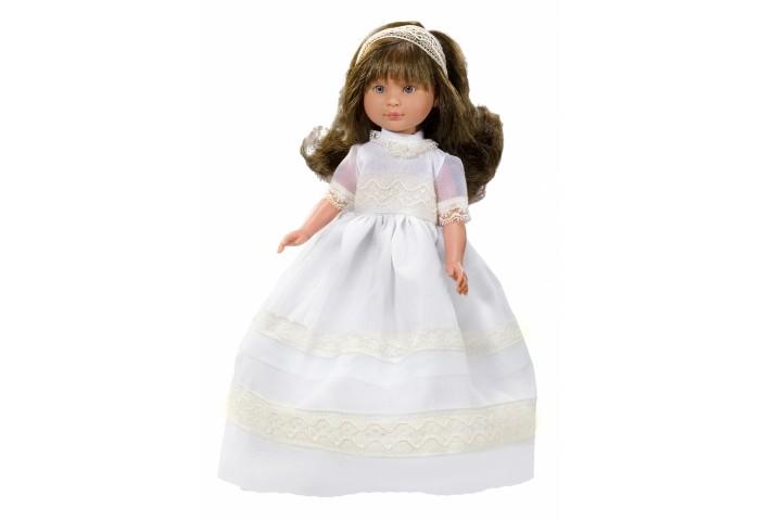 ASI Кукла Селия 30 см 1160207Кукла Селия 30 см 1160207ASI Кукла Селия 30 см 1160207   Эта милая невеста так очаровательна и грациозна в белоснежном платье! Чудесная кукла  из винила станет любимицей вашего ребенка, она устойчиво стоит на ровных ногах.  Длинные каштановые волосы, распущены и слегка завиты. Аккуратный бант из органзы украшает миниатюрную головку.  Все куклы ASI создаются с использованием ручного труда. В каждую куколку мастер вкладывает свою душу! Ваш ребенок сразу почувствует тепло и доброту, которая исходит из этой маленькой игрушки.  Особенности:  Куклы ASI сделаны очень качественно Без запаха   Используется безопасный твердый винил Видна прорисовка мельчайших подробностей тела, рук и ног<br>
