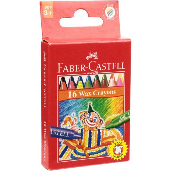Карандаши, восковые мелки, пастель Faber-Castell Цветные восковые карандаши Клоун в картонной коробке 16 шт. фонарь maglite 2d серебристый 25 см в картонной коробке 947251