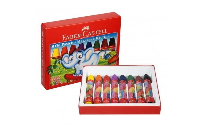 Карандаши, восковые мелки, пастель Faber-Castell Масляная пастель в картонной коробке 8 шт. фонарь maglite 2d синий 25 см в картонной коробке 947191