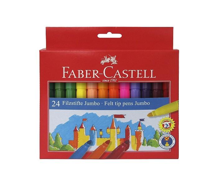Фломастеры Faber-Castell Jumbo Замок в картонной коробке 24 шт. фонарь mag lite 6d 49 5 см черный в картонной коробке