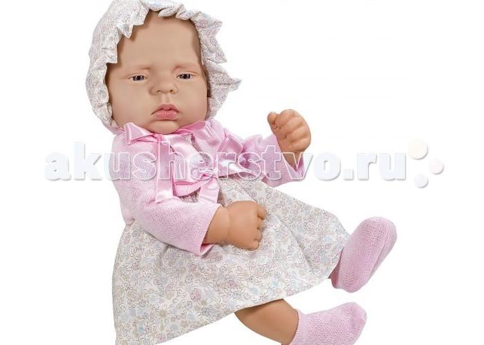 ASI Кукла Лючия 40 см 323960Кукла Лючия 40 см 323960ASI Кукла Лючия 40 см 323960 - этот очаровательный большой пупс-реборн имеет колоссальное анатомическое сходство с настоящим новорожденным ребенком! Скрюченные ножки и ручки со складочками, крохотные пальчики, торчащие пупочки - все сделано очень натуралистично! Лючия выполнена полностью из высококачественного, гипоаллергенного винила.  Особого внимания заслуживают глазки этого винилового пупса и невероятно пронзительный взгляд! Одежда куколки изготовлена из очень качественных натуральных материалов и отделана мастером вручную! К пупсу прилагается настоящий Сертификат о Рождении.  Все куклы ASI создаются с использованием ручного труда. В каждую куколку мастер вкладывает свою душу! Ваш ребенок сразу почувствует тепло и доброту, которая исходит из этой маленькой игрушки.  Особенности:  Куклы ASI сделаны очень качественно Без запаха   Используется безопасный твердый винил Видна прорисовка мельчайших подробностей тела, рук и ног<br>