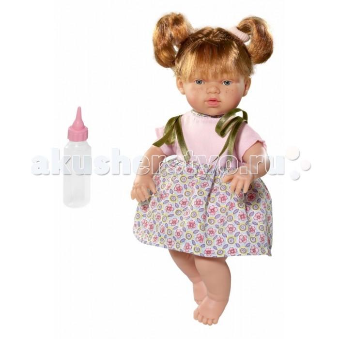 ASI Кукла Ната 25 см 443780Кукла Ната 25 см 443780ASI Кукла Ната 25 см 443780 с симпатичным личиком и очаровательным нардом!  Голова, руки и ноги у той куклы выполнены из винила, а тело из ткани с наполнителем. У Наты пухленькие пальчики на руках и ногах, маленькие выразительные черты лица, живые глазки и розовые губки, приоткрытые в улыбке, придат ей особое очарование! У куколки Наты рыжие короткие волосы, собранные в два озорных хвостика, что придает ей задорный вид!  Все куклы ASI создатс с использованием ручного труда. В кажду куколку мастер вкладывает сво душу! Ваш ребенок сразу почувствует тепло и доброту, котора исходит из той маленькой игрушки.  Особенности:  Куклы ASI сделаны очень качественно Без запаха   Используетс безопасный твердый винил Видна прорисовка мельчайших подробностей тела, рук и ног<br>