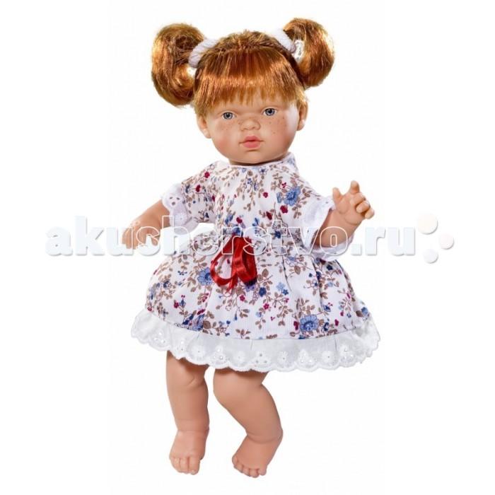 ASI Кукла Ната 25 см 443800Кукла Ната 25 см 443800ASI Кукла Ната 25 см 443800 с симпатичным личиком и очаровательным нарядом!  Голова, руки и ноги у этой куклы выполнены из винила, а тело из ткани с наполнителем. У Наты пухленькие пальчики на руках и ногах, маленькие выразительные черты лица, живые глазки и розовые губки, приоткрытые в улыбке, придают ей особое очарование! У куколки Наты рыжие короткие волосы, собранные в два озорных хвостика, что придает ей задорный вид! Одета в платье с цветочным принтом.  Все куклы ASI создаются с использованием ручного труда. В каждую куколку мастер вкладывает свою душу! Ваш ребенок сразу почувствует тепло и доброту, которая исходит из этой маленькой игрушки.  Особенности:  Куклы ASI сделаны очень качественно Без запаха   Используется безопасный твердый винил Видна прорисовка мельчайших подробностей тела, рук и ног<br>