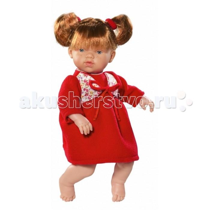 ASI Кукла Ната 25 см 443810Кукла Ната 25 см 443810ASI Кукла Ната 25 см 443810 с симпатичным личиком и очаровательным нарядом!  Голова, руки и ноги у этой куклы выполнены из винила, а тело из ткани с наполнителем. У Наты пухленькие пальчики на руках и ногах, маленькие выразительные черты лица, живые глазки и розовые губки, приоткрытые в улыбке, придают ей особое очарование! У куколки Наты рыжие короткие волосы, собранные в два озорных хвостика, что придает ей задорный вид! Одета в красивое красное платье.  Все куклы ASI создаются с использованием ручного труда. В каждую куколку мастер вкладывает свою душу! Ваш ребенок сразу почувствует тепло и доброту, которая исходит из этой маленькой игрушки.  Особенности:  Куклы ASI сделаны очень качественно Без запаха   Используется безопасный твердый винил Видна прорисовка мельчайших подробностей тела, рук и ног<br>
