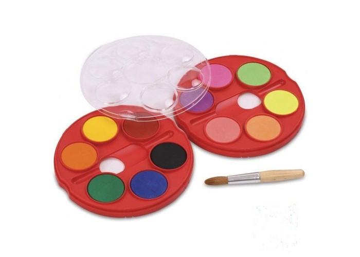 Краски Faber-Castell Акварельные краски Jumbo диаметр 40 мм 12 шт. краски faber castell гуашь флуоресцентные цвета 6 шт