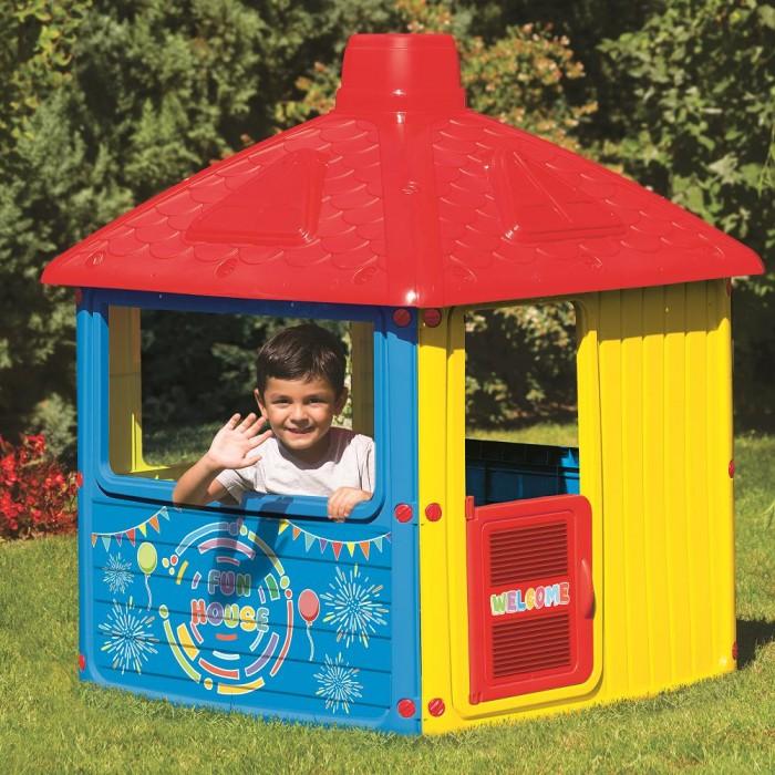 Летние товары , Игровые домики Dolu Игровой домик для улицы Городской дом арт: 304182 -  Игровые домики