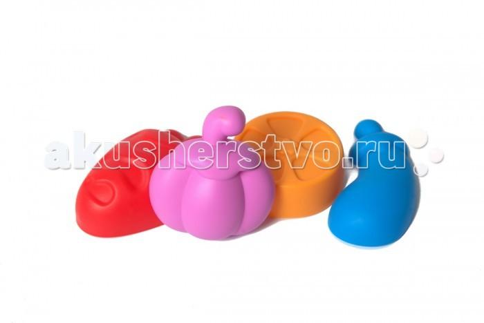 Игрушки в песочницу Baby Trend Набор для песочницы из 4 формочек  недорого
