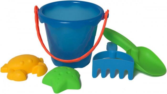 Игрушки в песочницу Baby Trend Набор для песочницы 5 предметов ведерко 58498  недорого