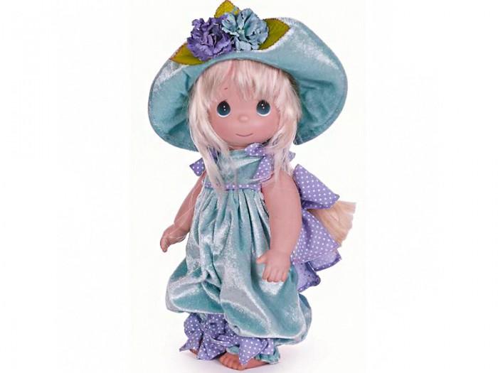 Precious Кукла Анютины глазки 30 смКукла Анютины глазки 30 смКоллекционная кукла Precious Moments Анютины глазки очарует вас и вашу дочурку с первого взгляда!   Кукла станет отличным подарком для любой девочки на день рождения или другой праздник. Девочка одета в нарядный костюм. Длинные светлые волосы заплетены в косу и украшены бантом. На милом личике большие зеленые глаза.   Особенности:  Вся одежда съемная.   Кукла изготавливается из качественного, безопасного материала и имеет пять базовых точек артикуляции.   Кукла имеет свой неповторимый образ и характер.   Волосы прошитые, из качественного синтетического волокна или крученых ниток, в зависимости от образа. Рост куклы 30 см.<br>