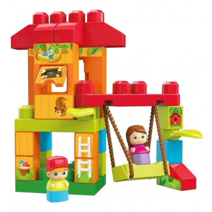 Конструкторы Mega Bloks Mattel First Builders Веселые качели (29 деталей) mattel first builders