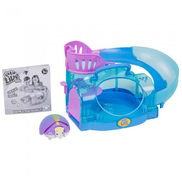 Интерактивные игрушки Little live Pets Ежик с домиком