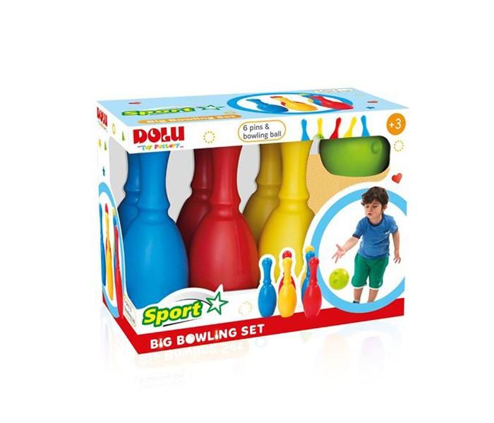 Dolu Большой набор боулинг из 6 кеглей и 1 шаром