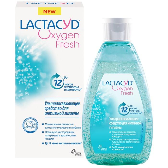 Косметика для мамы Lactacyd Гель для интимной гигиены Кислородная свежесть 200 мл гель babe для интимной гигиены 200 мл