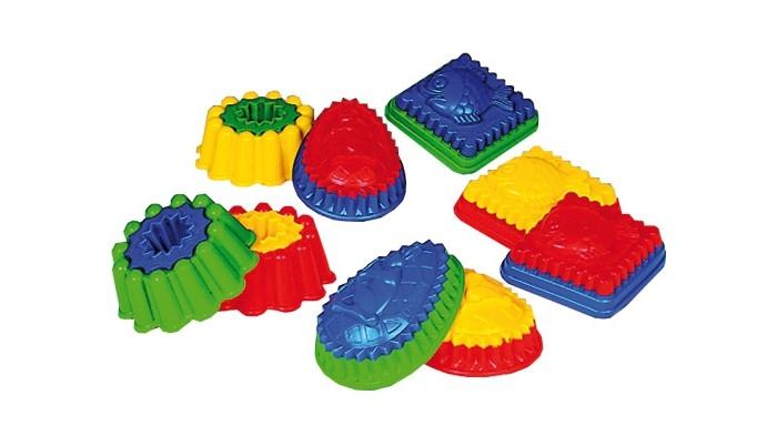 Игрушки в песочницу Spielstabil Формочка двухцветная с рисунком формочка для песка spielstabil крепостная стена синяя 7428