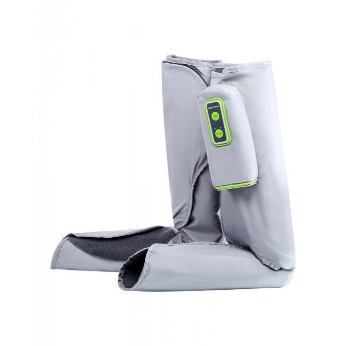 Gezatone Массажер для ног Bio SonicМассажер для ног Bio SonicGezatone Массажер для ног Bio Sonic предназначен для противоотечного, расслабляющего массажа стоп и голеней, является прекрасной профилактикой варикозного расширения, снимает усталость и тяжесть в ногах.  Компрессионный массажер для ног - это портативный прибор для прессотерапии икроножных мышц и стоп, специально разработанный для проведения процедур в домашних условиях. Прибор имеет форму сапожек, который надевают на ноги и удобно крепятся с помощью широких липучек. Аппарат нежно сжимает ноги по направлению от периферии к центру, создавая эффект компрессии.   Особенности: Два режима интенсивности прессмасажа позволяют выбрать оптимальный именно для Вас, чтобы Вы могли достичь отличных результатов.  Таймер воздействия запрограммирован на 15 минутную процедуру, которой достаточно, чтобы снять спазм, устранить отеки и улучшить общее самочувствие. Домашний аппарат для прессотерапии и лимфодренажа ног работает от сетевого адаптера, что позволяет поддерживать оптимальную интенсивность воздействия и не требует замены батареек.  Аппарат прессотерапии позволяет быстро снять отеки и тяжесть в ногах. Благодаря компрессииулучшается приток крови к проблемным участкам, улучшается работа сосудов.  Прессотерапия – это отличный лимфодренаж и профилактика варикозного расширения вен.  Массажер для ног электрический быстро устраняет спазм мышц, помогая расслабиться и восстановить работоспособность.  Компрессионный массаж ног при варикозе на начальных стадиях позволяет значительно улучшить состояние вен, избавиться от отеков и застоя крови. (при сильном варикозе необходимо проконсультироваться с врачом перед использованием прибора!)<br>
