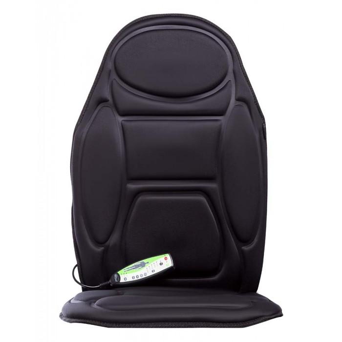 Gezatone Прибор для массажаПрибор для массажаGezatone Прибор для массажа для использования дома, в офисе или в автомобиле позволяет провести профессиональный массаж спины и поясницы, шеи и бедер, быстро снять спазм мышц, восстановить силы!   Массажная накидка на кресло разработана для использования в комфортных условиях – у себя дома, в машине, в офисе Вы можете включить ее и получить сеанс полноценного массажа.Накиньте массажный коврик на кресло или установите на сиденье автомобиля, выберите подходящую программу, и Ваш «личный массажист» начнет тщательно и нежно разминать затекшие мышцы, улучшит кровоснабжение, улучшит самочувствие.  Особенности: Массаж избавляет от стресса, бодрит тело и дух! Интенсивная вибрацияблаготворно воздействует практически на все системы организма, улучшая их работоспособность и снимая застой крови и лимфы.  Благодаря зональному вибромассажу можно уделить особое внимание различным зонам тела, снять синдром затекших мышц, устранить спазм и напряжение. Массажная накидка на кресло также обладаетпостоянным магнитным полем(благодаря встроенным магнитам), которое улучшает тонус сосудов, стимулирует кровообращение, выводит жидкость из проблемных зон.  Магнитотерапия давно известна как средство общей релаксации и восстановления тонуса мышечных волокон. В приборе предусмотрендополнительный режим глубокого прогрева, который усиливает функциональность массажа, а также незаменим для автолюбителей в осенне-зимний период.  Массажная накидка на кресло в автомобиле поможет быстро согреться в морозы, предотвратит развитие простудных заболеваний.  Зона шеи.Вибромассаж этой области позволяет восстановить приток крови к мозгу, является отличной профилактикой остеохондроза, снимает местное напряжение и борется с синдромом затекших мышц. Зона спины.Глубокий массаж крупных мышц спины помогает поддерживать функциональность опорно-двигательного аппарата и бороться с сутулостью, устраняет спазм, снимает усталость и ощущение дискомфорта. Зона поясницы.Эта область н