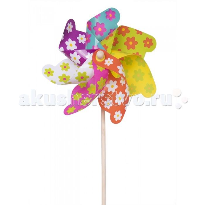 Товары для праздника Fresh-Trend Ветрячок Цветочки 110 см