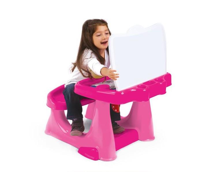 Летние товары , Пластиковая мебель Dolu Парта со скамейкой и открывающейся столешницей арт: 306614 -  Пластиковая мебель