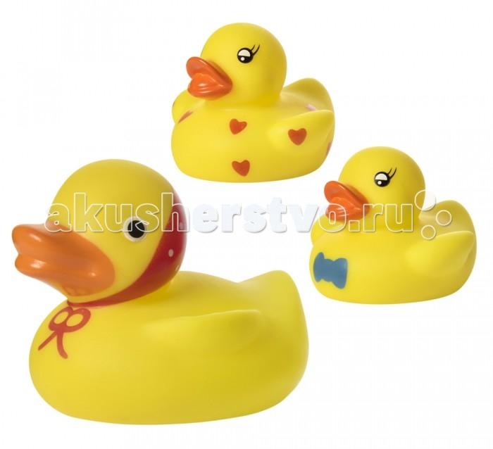 Игрушки для ванны Курносики Набор игрушек для ванны Кря-кря 3 шт.