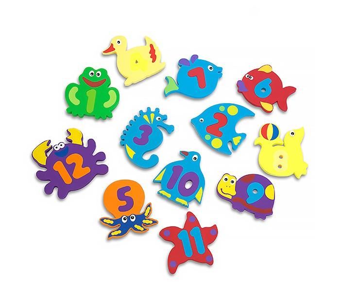 Игрушки для ванны FunKids Набор игрушек для купания WaterFun-2 игровые коврики funkids алфавит 1 kb 007r nt