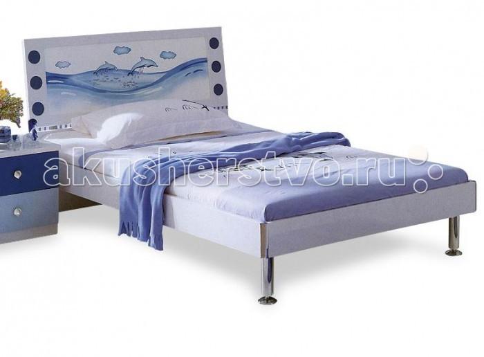 Детская мебель , Детские кроватки Milli Willi Дельфин арт: 30894 -  Детские кроватки