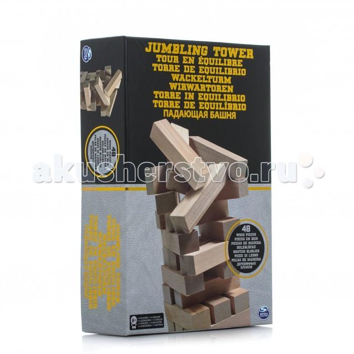 Настольные игры Spin Master Настольная игра Падающая башня в коробке настольная игра десятое королевство падающая башня
