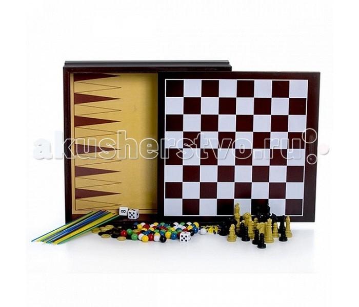 Настольные игры Spin Master Настольные игры Семейный набор 10 игр настольные игры spin master настольная игра шашки классические