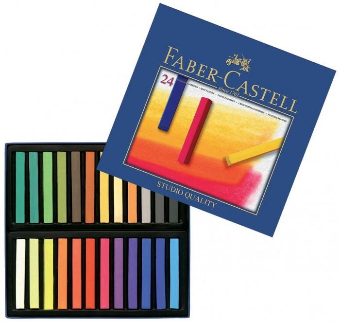 Развитие и школа , Мелки Faber-Castell мягкие Gofa в картонной коробке 24 шт. арт: 309279 -  Мелки