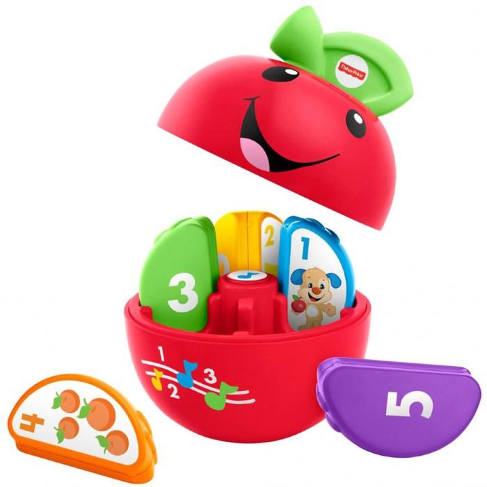 Электронные игрушки Fisher Price Mattel Обучающее яблочко Смейся и учись набор mattel fisher price доктор смейся и учись