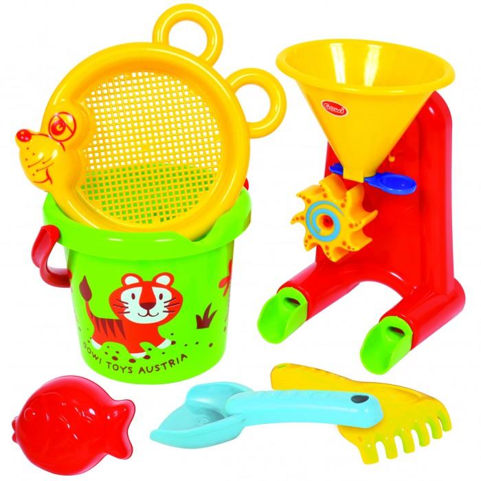 Летние товары , Игрушки в песочницу Gowi Набор для игры с песком и водой № 1 6 предметов арт: 309599 -  Игрушки в песочницу