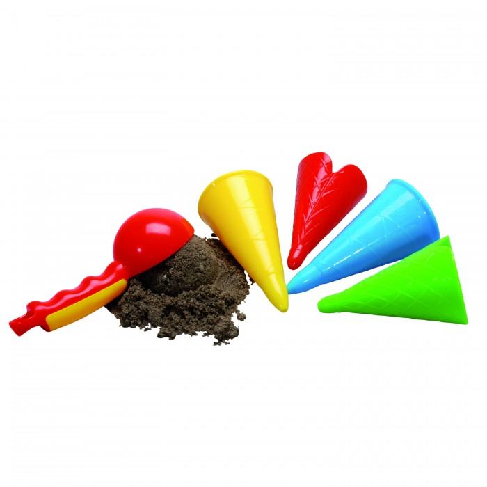 Игрушки в песочницу Gowi Набор Ложка и рожки для мороженого oxo ложка для мороженого 21291