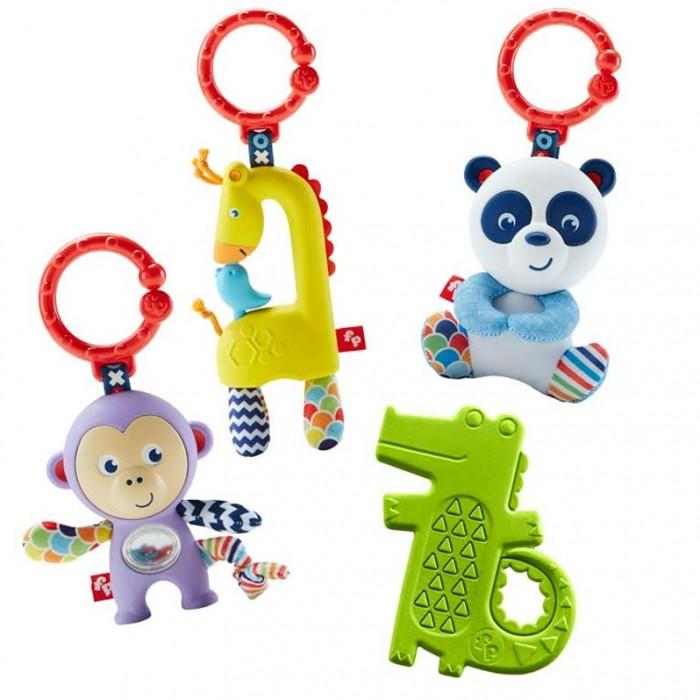 Погремушки Fisher Price Mattel прорезыватель Животные mattel игрушки веселые друзья со звуком fisher price в ассортименте