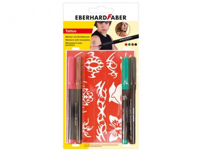 Канцелярия Faber-Castell Набор тату маркеров для мальчиков 4 шт.