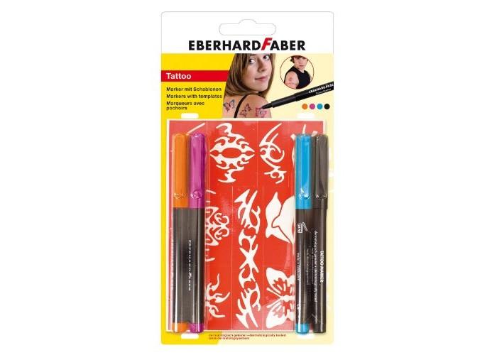 Канцелярия Faber-Castell Набор тату маркеров для девочек 4 шт.