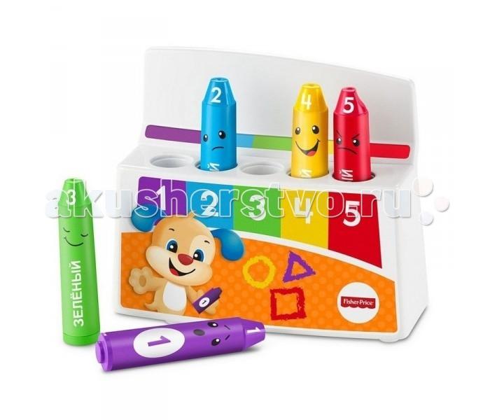 Развивающие игрушки Fisher Price Mattel Обучающие карандаши Смейся и учись набор mattel fisher price доктор смейся и учись