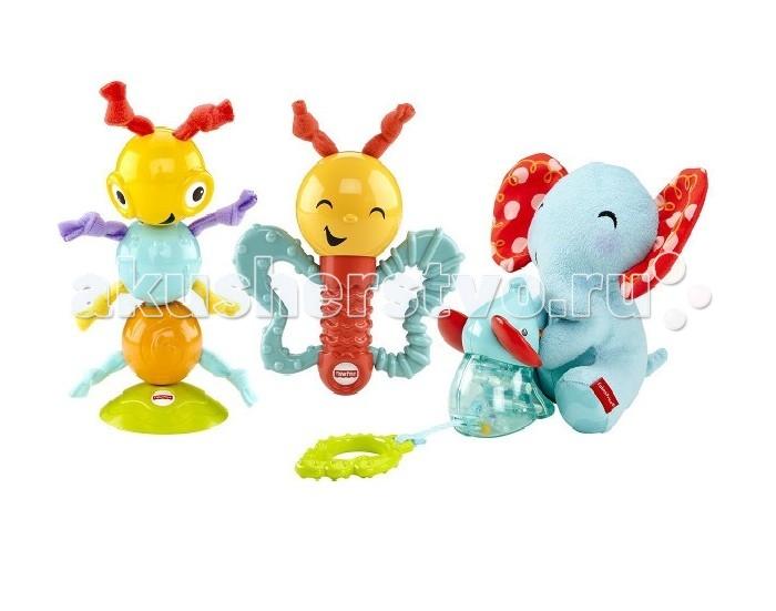 Развивающие игрушки Fisher Price Mattel Игровой набор Веселые друзья аппликация из песка fisher price слон 03186