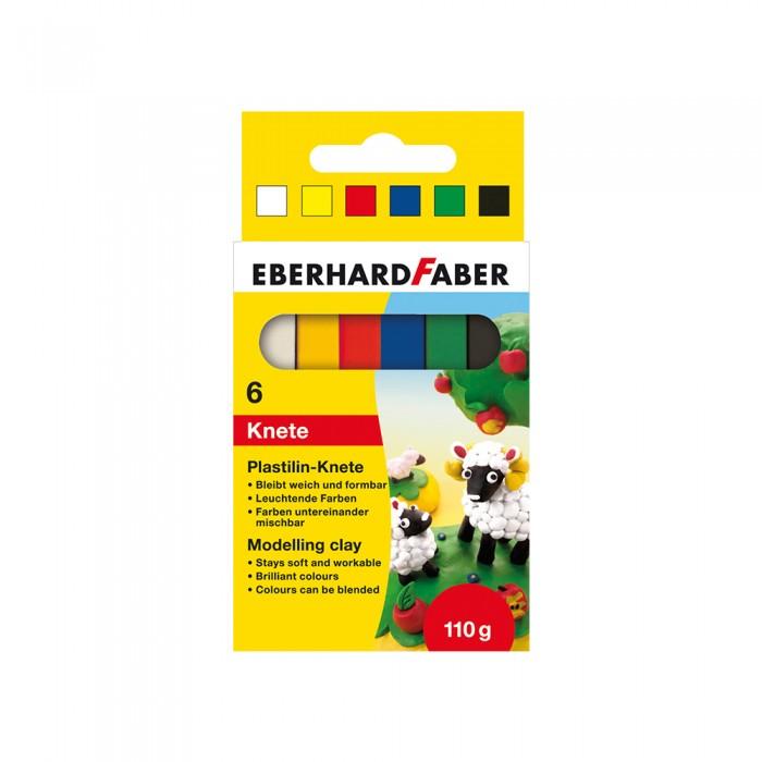Всё для лепки Faber-Castell Пластилин в картонной коробке 6 шт. фонарь maglite 2d серебристый 25 см в картонной коробке 947251